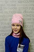 Шапочка и шарфик на девочку
