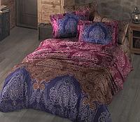 Комплект постельного белья  Clasy сатин размер евро İNDABA-V1
