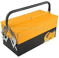 """Ящик для инструментов """"Профи"""" 404×200×195 мм «Tolsen» (Толсен)"""