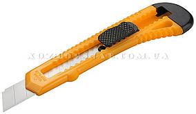 Нож сегментный 18 мм (пластик) «Tolsen»