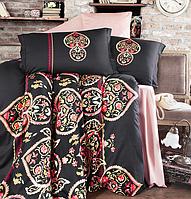Комплект постельного белья  Clasy сатин размер евро Jada