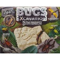 Набір д/проведення розкопок 6+BUGS EXCAVATOIN 02 Комахи 6 видів(1/5)ДТ