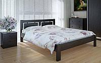 Деревянная кровать Пальмира 140х190 см ТМ Meblikoff