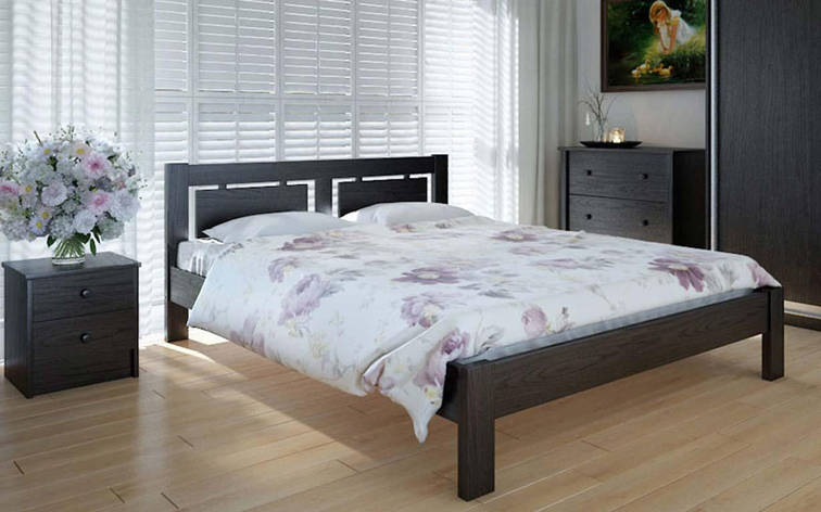 Деревянная кровать Пальмира 140х190 см ТМ Meblikoff, фото 2