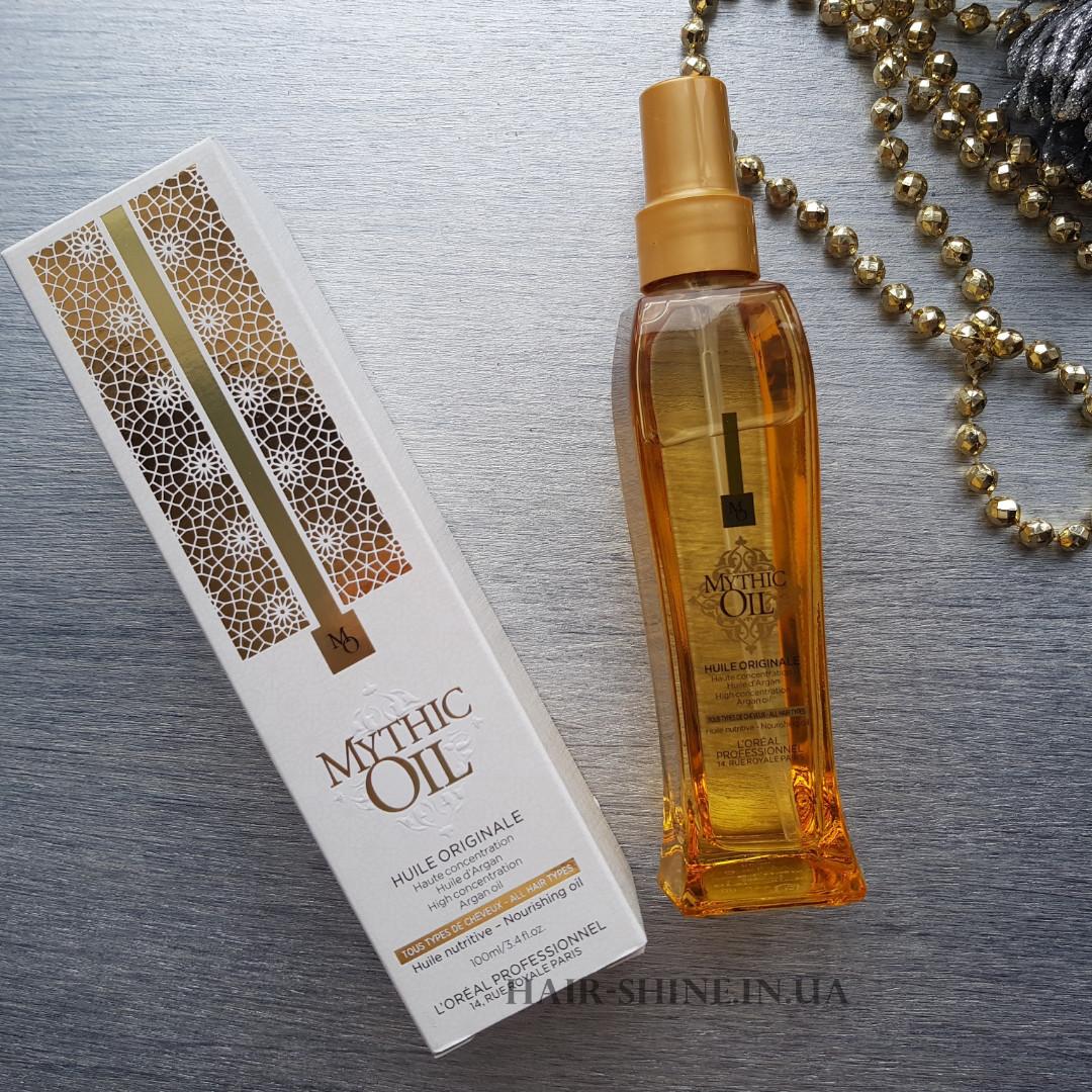 Питательное масло-L'Oreal Professionnel Mythic Oil Originale High Concentration Argan Oil 100 ml