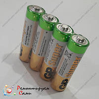 Батарейка пальчиковая 1,5V AA LR6 GP Super Alkaline