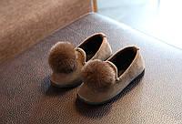 Туфли для девочки Пушистик