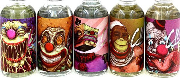 Жидкость для электронных сигарет CLOWN 120 ml Оригинал