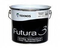 Грунт алкидный TEKNOS FUTURA 3 адгезионный (белый глубокоматовый) 2,7 л