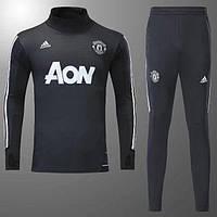 Спортивный костюм Манчестер Юнайтед,сезон 17-18 (черный)