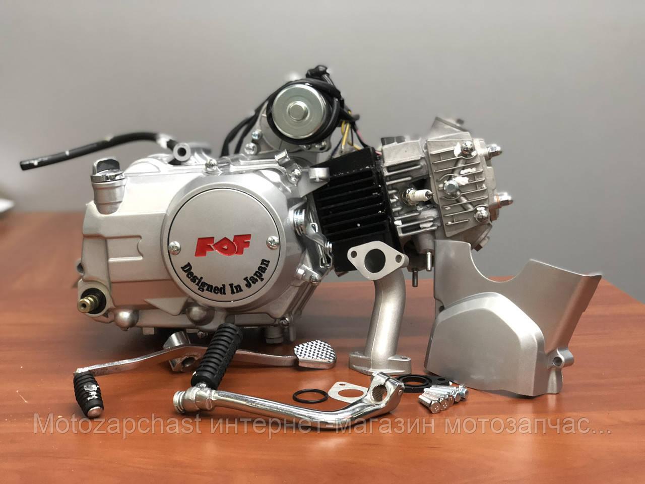 Двигатель Альфа/Дельта 110куб механика FDF