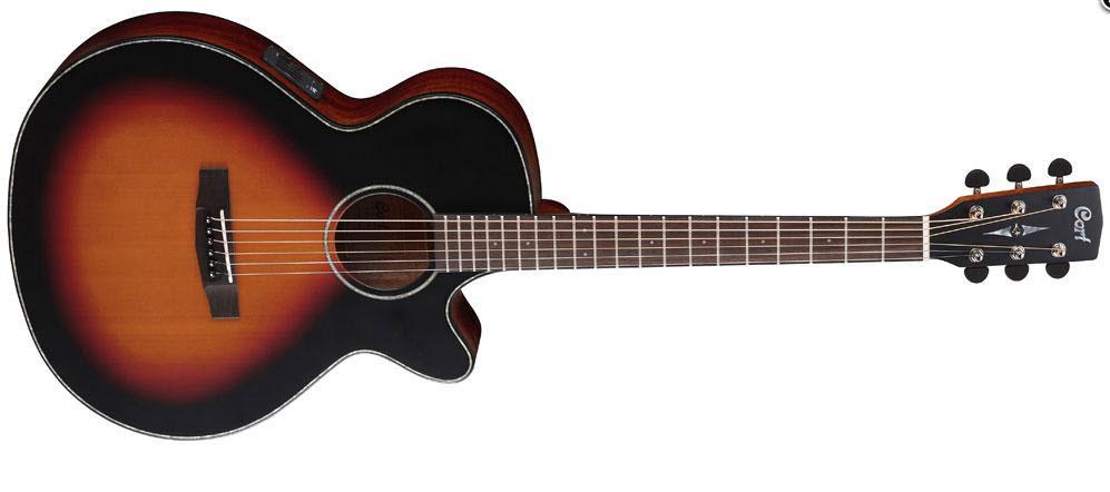 Электроакустическая гитара CORT SFX-E (3TSS)
