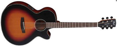 Электроакустическая гитара CORT SFX-E (3TSS), фото 2