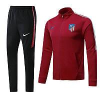 Спортивный костюм Атлетико Мадрид,сезон 17-18 (красный)