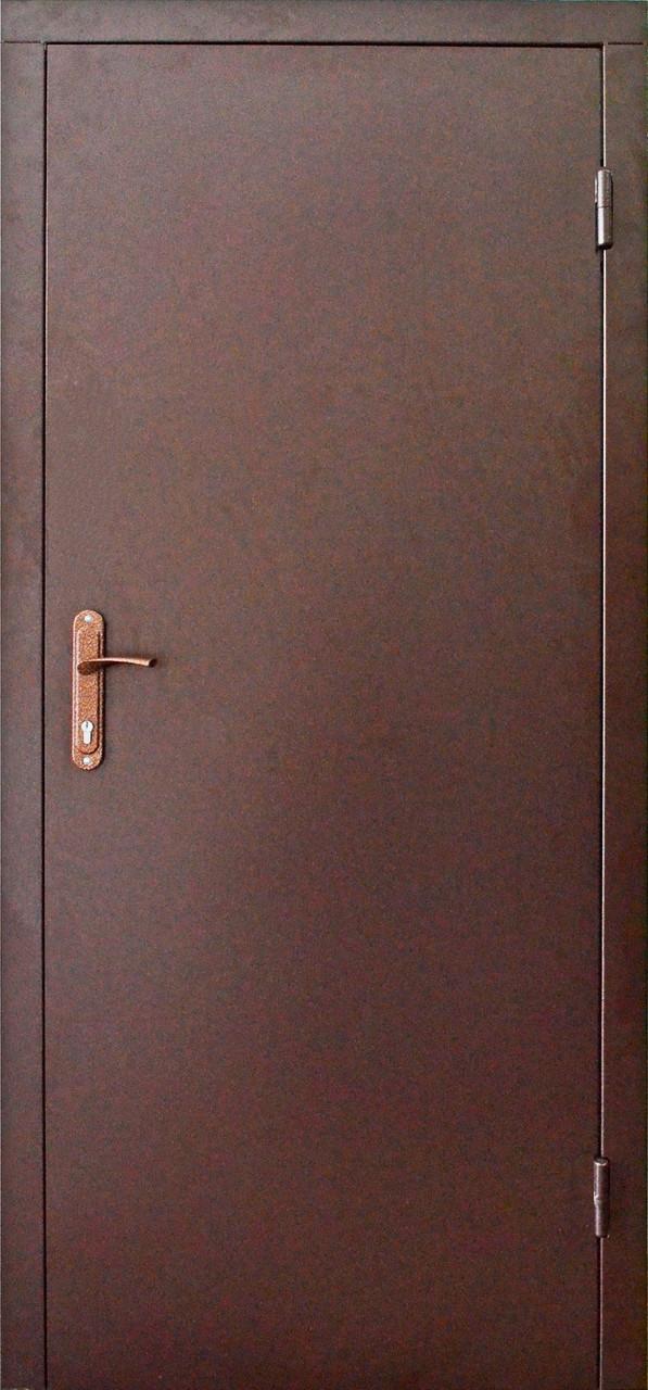 Технические металлические входные двери эконом класса