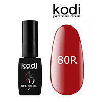 Гель лак Kodi 80R, 8 мл