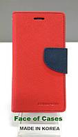 Чехол-книжка Mercury Fancy Diary для Samsung J200H Galaxy J2 Duos черный / черный