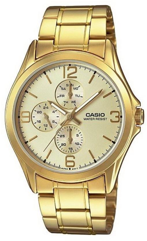 Часы Casio MTP-V301G-9AUDF (мод.№5224)