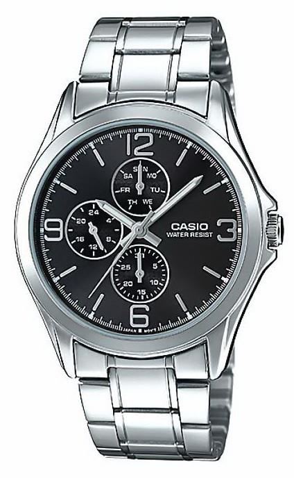 Часы Casio MTP-V301D-1AUDF (мод.№5224)