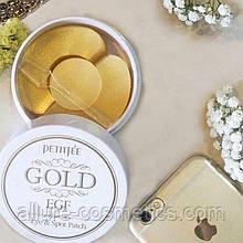 Гідрогелеві патчі з кружечками Petitfee Gold & EGF Eye & Spot Patch