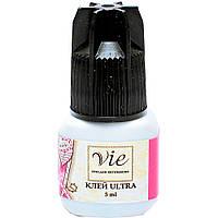 Клей УЛЬТРА для наращивания ресниц Vie Ultra, 5 ml, время фиксации 3 секунды