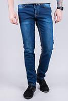 Джинсы мужские стильные, темные №285G007 (Синий)