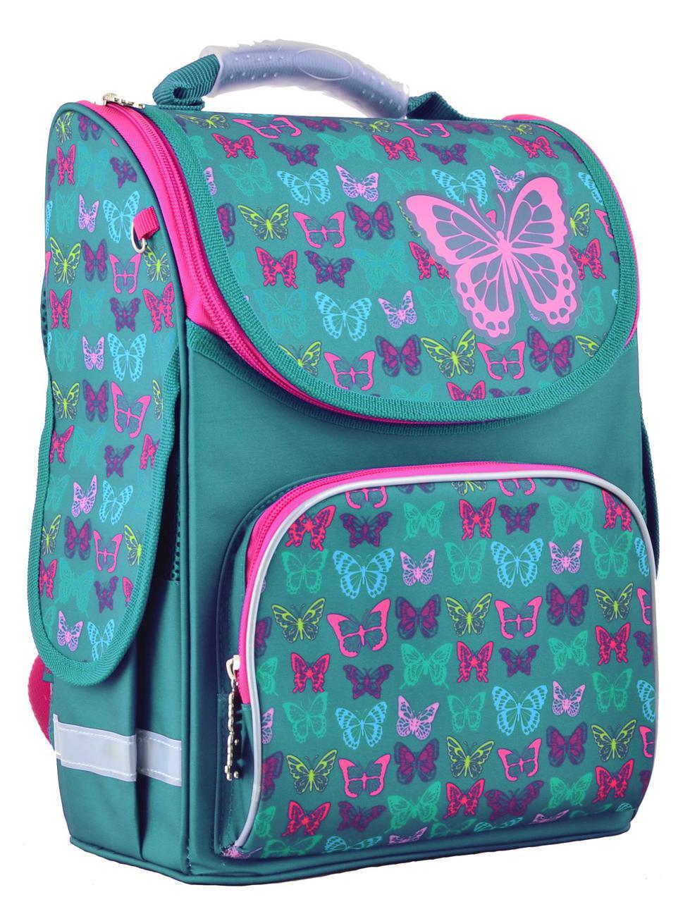 2fa28e80d5ba Рюкзак Каркасный PG-11 Butterfly Turquoise ТМ 1 Вересня Smart — в ...