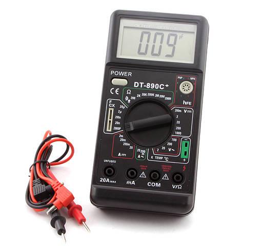 Мультиметр  цифровой DT-890С+ (оригинал)