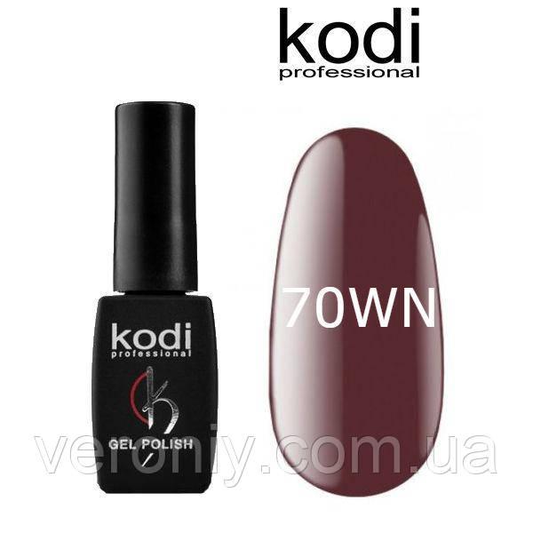 Гель лак Kodi 70WN, 8 мл