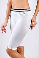 Велотреки женские классические 19PL078-2 (Бело-черный)