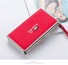 Великі жіночі клатчі для телефону. Стильний жіночий гаманець чохол для телефону., фото 2