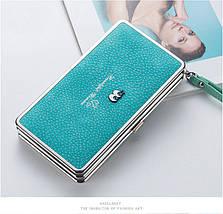 Великі жіночі клатчі для телефону. Стильний жіночий гаманець чохол для телефону., фото 3