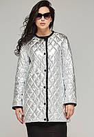 Модная женская куртка-плащ К-60