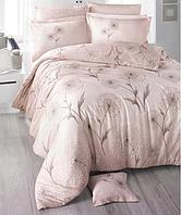Комплект постельного белья  Clasy сатин размер евро Loop-v1