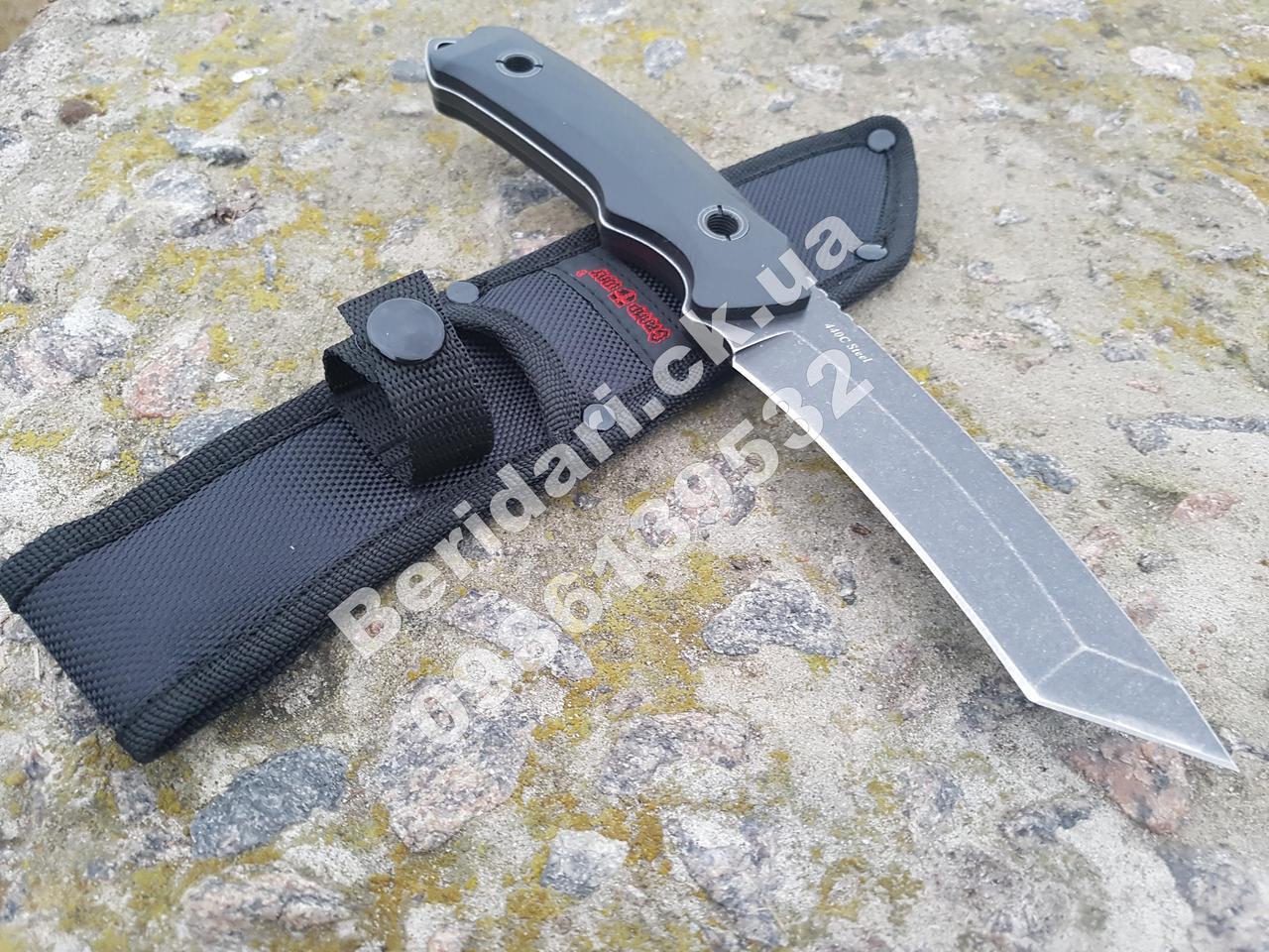 Нож  миллитари тантаноид  ,с вогнуто-режущей кромкой