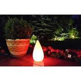 Вуличний світильник LED ОКРУГЛИЙ 22x28 см, граніт, фото 5
