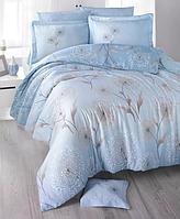 Комплект постельного белья  Clasy сатин размер евро Loop-v2