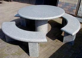 Столи і столики із граніту