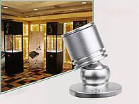 Светильник для подсветки витрин  LED  LW -1W 4500К  серебро