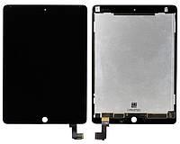 Дисплей iPad Air 2 с сенсором черным