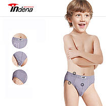 Детские хлопковые белый плавки  на мальчика Марка «INDENA» Арт.005, фото 2