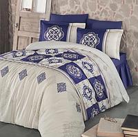 Комплект постельного белья  Clasy сатин размер евро MANDELA V1