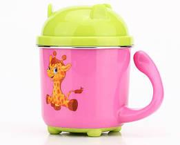 Чашка небьющаяся детская «Жираф»