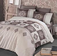 Комплект постельного белья  Clasy сатин размер евро MANDELA V3