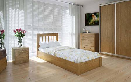 Деревянная кровать Вилидж с механизмом 90х190 см ТМ Meblikoff, фото 2