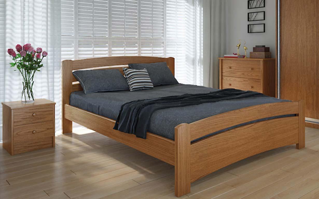 Деревянная кровать Грин плюс 90х190 см ТМ Meblikoff