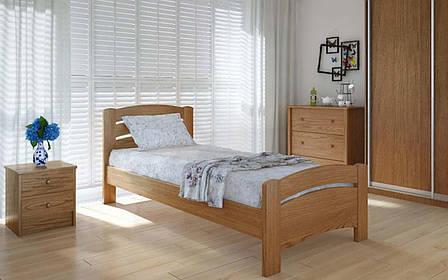 Деревянная кровать Грин плюс 90х190 см ТМ Meblikoff, фото 2