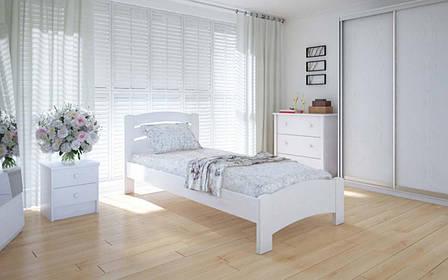 Деревянная кровать Грин 90х190 см ТМ Meblikoff, фото 2