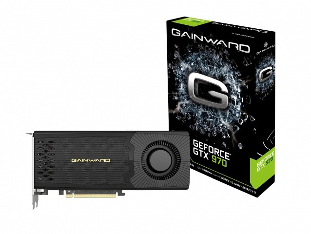 "Видеокарта Gainward GTX 970 4GB Reference GDDR5 256bit  ""Over-Stock"" Б/У"