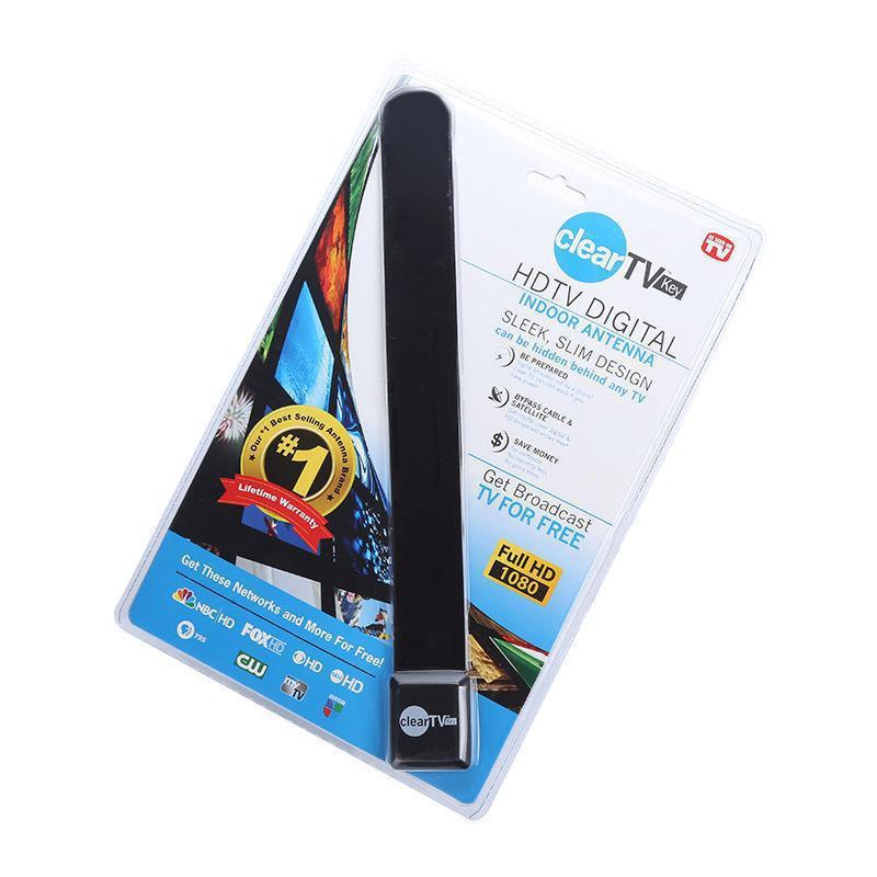 TOP Clear TV Key HDTV FREE TV Цифровой Комнатная антенна Дитч кабель Как видно на ТВ
